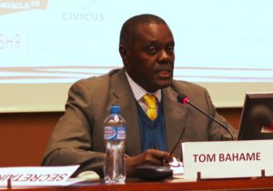 Mr. Bahame Tom Nyanduga, the Independent Expert on the situation of Human Rights in Somalia
